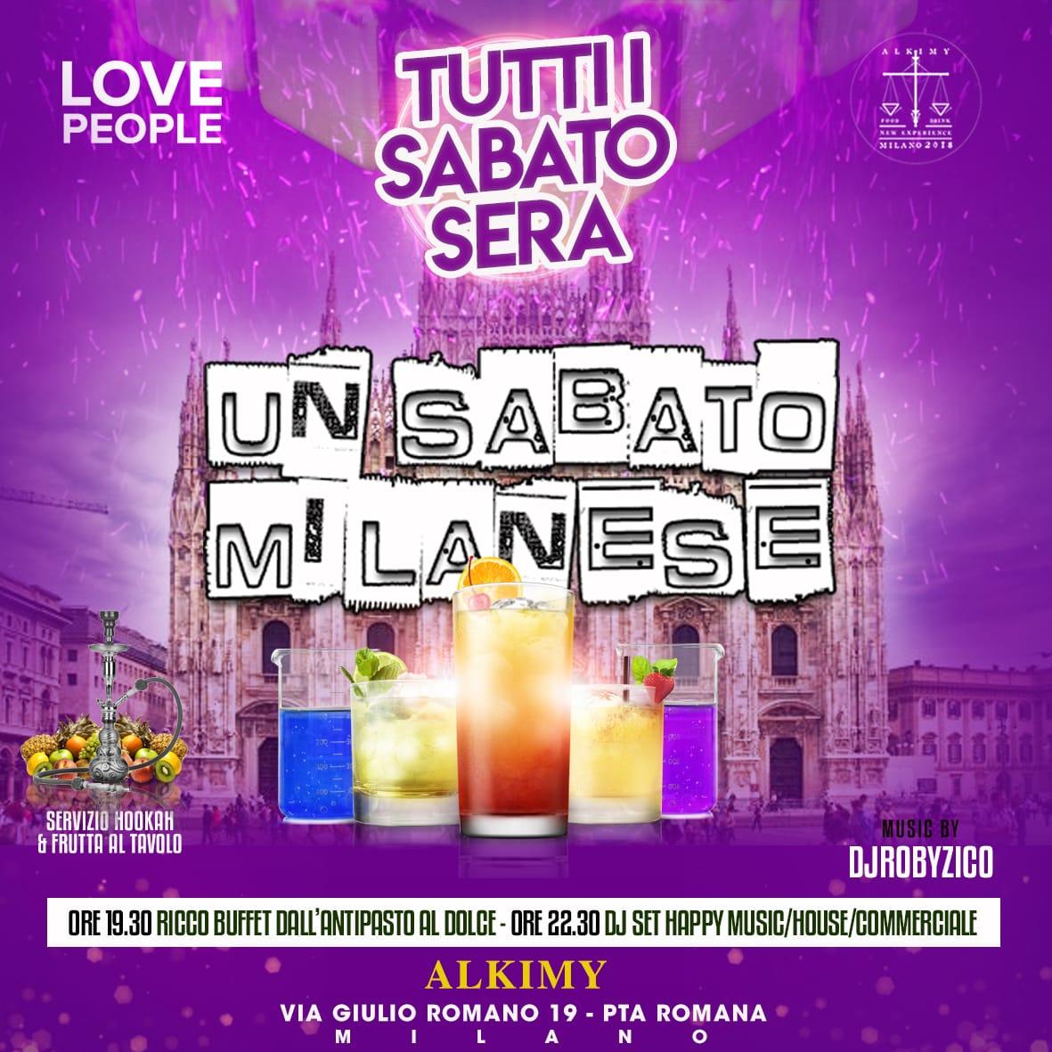 Un sabato milanese