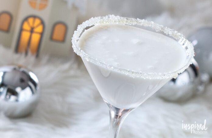 White Christmas Martini cocktail | Aperitivo a Milano.info